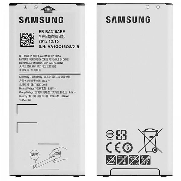 Originální baterie Samsung EB-BA310ABE Samsung A3 2016 2300mAh - originální