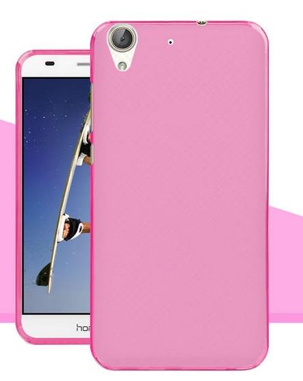 Pouzdro TopQ Huawei Y6 II silikon růžový (kryt neboli obal na mobil Huawei Y6 II)