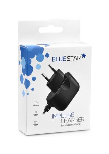 Nabíječka Blue Star 2A microUSB černá