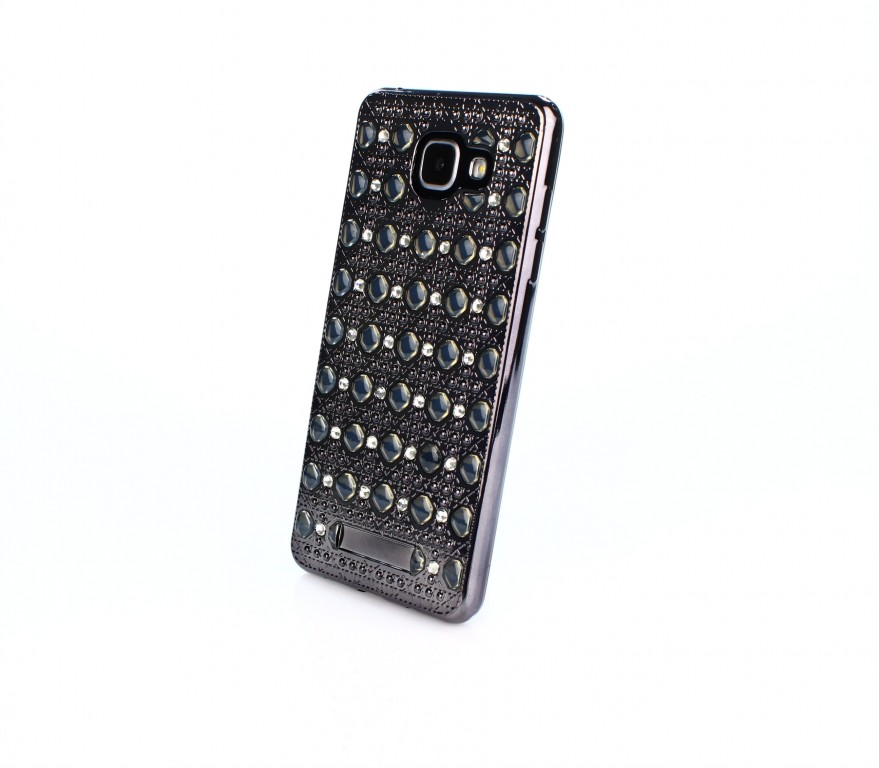 Pouzdro TopQ Samsung A5 2016 silikon šedý (kryt neboli obal na mobil Samsung A5 2016 A510)