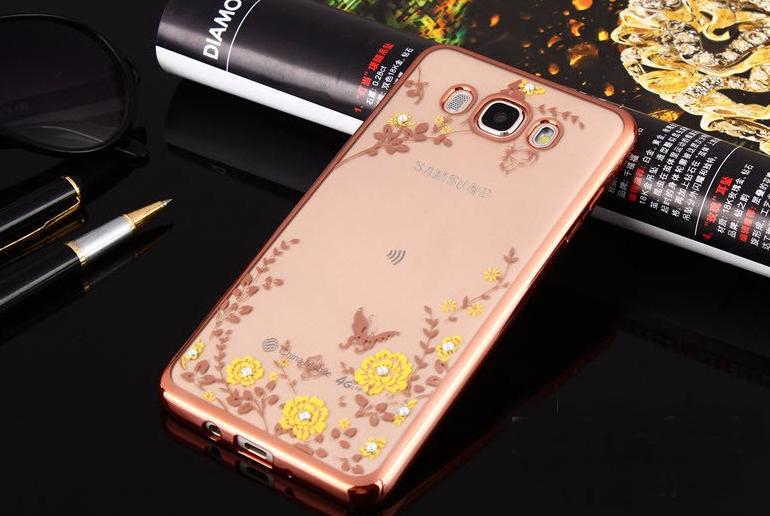 Pouzdro TopQ Samsung J5 2016 silikon růžový (kryt neboli obal na mobil Samsung J5 2016)