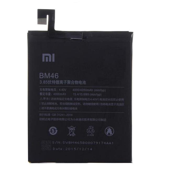 Baterie Xiaomi BTA-BM46 Xiaomi Redmi Note 3 4000mAh- originální