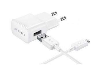 Originální rychlonabíječka Samsung EP-TA20EWE + micro USB ECBDU4EWE bílá 2A