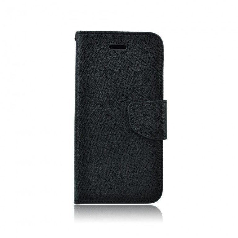 Pouzdro TopQ Samsung J5 2016 knížkové černé (kryt neboli obal Samsung J5 2016)