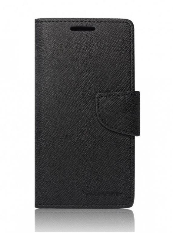 Pouzdro Mercury Fancy Diary iPhone 7 knížkové černé (kryt neboli obal iPhone 7)