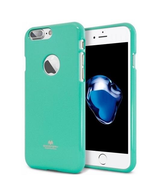 Pouzdro Mercury Jelly Case iPhone 7 silikon mentolový (kryt neboli obal na mobil iPhone 7)