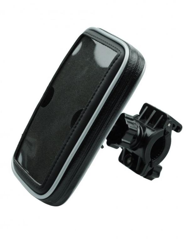 Držák na mobil TopStar na kolo velikost M černý