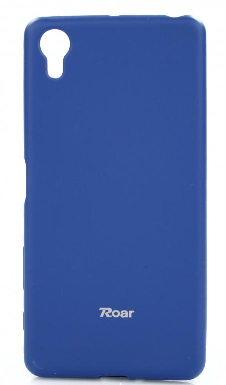 Pouzdro Roar Sony Xperia X Performance silikon modrý (kryt neboli obal na mobil Sony Xperia X Perfor