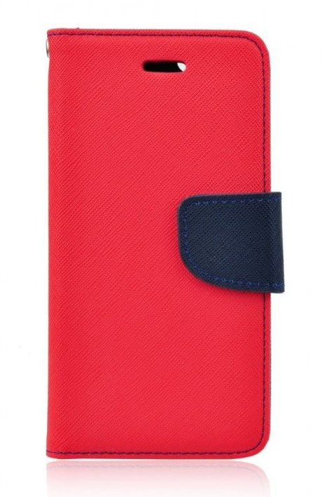 Pouzdro TopQ Samsung J3 2017 knížkové červené (kryt neboli obal na mobil Samsung J3 2017)
