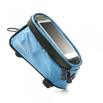Pouzdro Roswheel pro mobilní telefon na kolo modré 5,5''