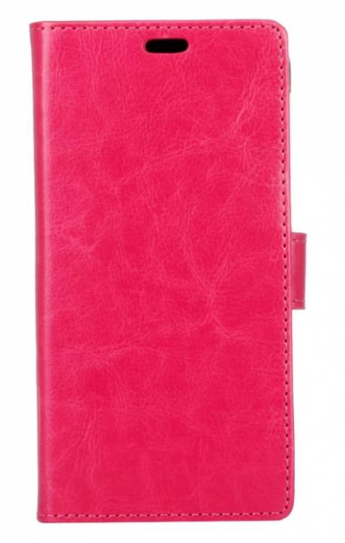 Pouzdro TopQ Samsung A5 2017 knížkové růžové (kryt neboli obal Samsung A5 2017)