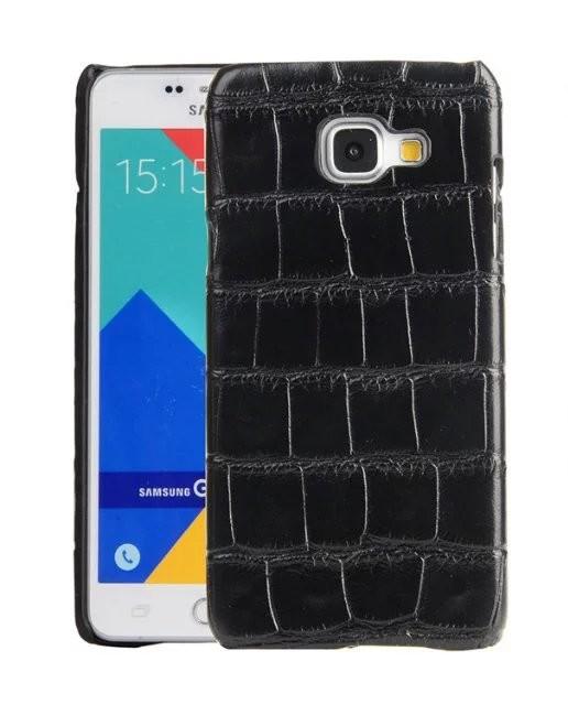 Pouzdro TopQ Samsung A5 2017 krokodýlí kůže (kryt neboli obal na mobil Samsung A5 2017 A520F)
