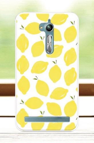 Pouzdro TopQ Asus ZenFone Go ZB500KL silikon citrony (kryt neboli obal na mobil Asus ZenFone Go ZB500KL)