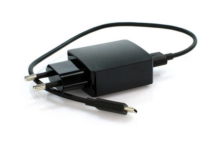 Originální nabíječka na mobil Huawei HW-050200E3W včetně kabelu 30cm černá