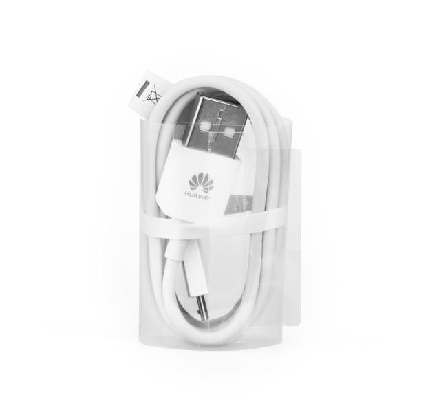 Originální datový kabel Huawei microUSB bílý