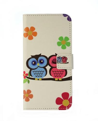 Pouzdro TopQ Huawei P10 Lite knížkové sovičky17407 (kryt neboli obal na mobil Huawei P10 Lite)
