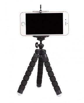 Stativ pro mobilní telefon černý