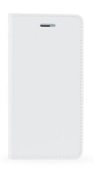 Pouzdro TopQ Huawei P10 lite knížkové bílé 17630 (kryt neboli obal na mobil Huawei P10 lite)