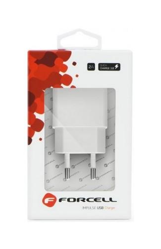 Rychlonabíječky Forcell 2.4A bílá