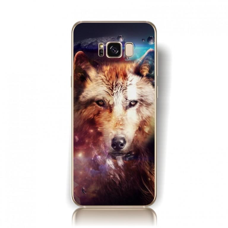 Pouzdro TopQ Samsung S8 pevné Vlk 17969 (kryt neboli obal na mobil Samsung Galaxy S8 G950F)