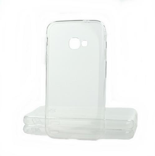 Pouzdro TopQ Samsung Xcover 4 silikon ultratenký průhledný 0,5mm 18439 (kryt neboli obal na mobil Sa