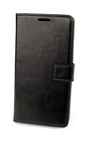 Pouzdro TopQ Huawei Y7 knížkové černé 19448 (kryt neboli obal na mobil Huawei Nova Smart)