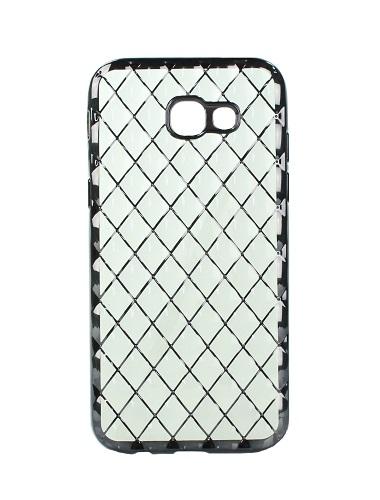 Pouzdro Luxury Jelly Samsung A3 2017 silikon černý 19521 (kryt neboli obal na mobil Samsung A3 2017)