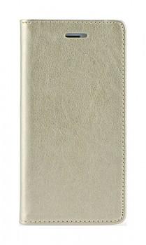 Knížkové pouzdro Magnet Book na iPhone 7 Plus zlaté