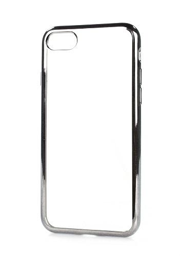 Pouzdro Swissten Elektro Jelly iPhone 7 silikon šedý 19559 (kryt neboli obal na mobil iPhone 7)
