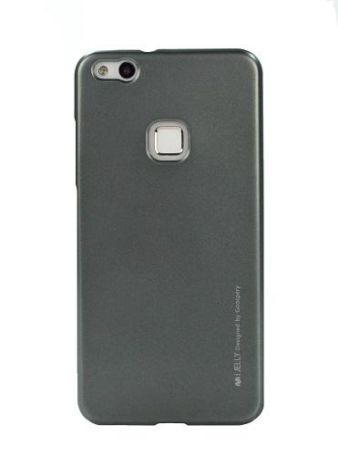 Pouzdro Mercury iJelly Huawei P10 Lite silikon šedý 19598 (kryt neboli obal na Huawei P10 Lite)