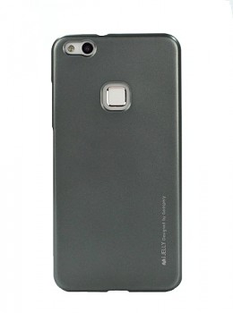 Zadní kryt Mercury iJelly Metal na Huawei P10 Lite šedý