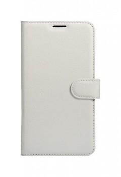Knížkové pouzdro na Samsung J5 2017 bílé s přezkou
