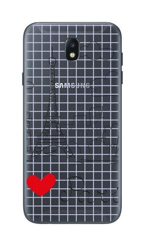 Pouzdro TopQ Samsung J5 2017 pevné Paris 19768 (kryt neboli obal na mobil Samsung J5 2017)