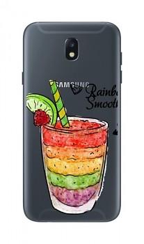 Zadní kryt na Samsung J5 2017 Rainbow Smoothie
