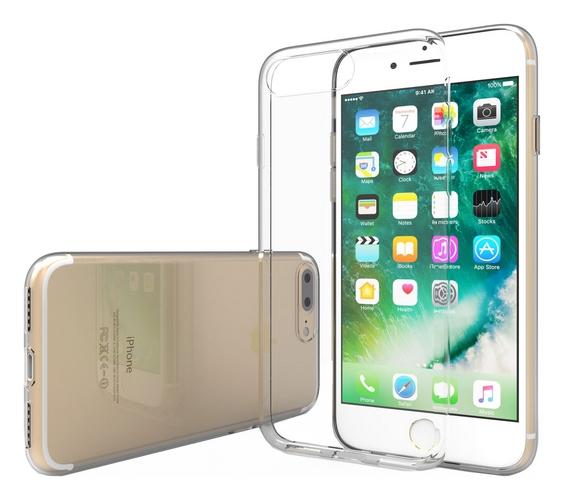 Pouzdro Swissten Clear Jelly iPhone 7 Plus silikon průhledný 19831 (kryt neboli obal na mobil iPhone 7 Plus)