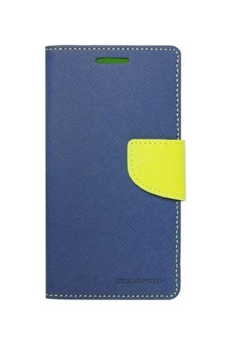 Pouzdro Mercury Fancy Diary Samsung A3 2017 knížkové modré 19902 (kryt neboli obal Samsung A3 2017)