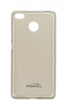 Zadní silikonový kryt KISSWILL na Xiaomi Redmi 4X tmavý