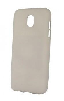 Zadní silikonový kryt Mercury Soft Case na Samsung J5 2017 šedý