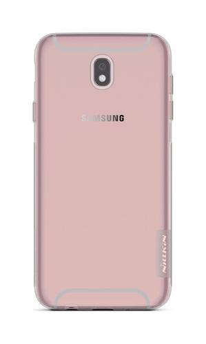 Pouzdro Nillkin Samsung J7 2017 silikonové tmavé 20400 (kryt neboli obal na mobil Samsung J7 2017 J730F)