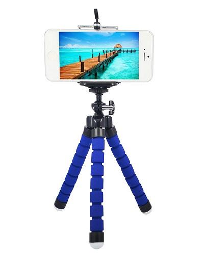 Stativ pro mobilní telefon univerzální modrý 20451