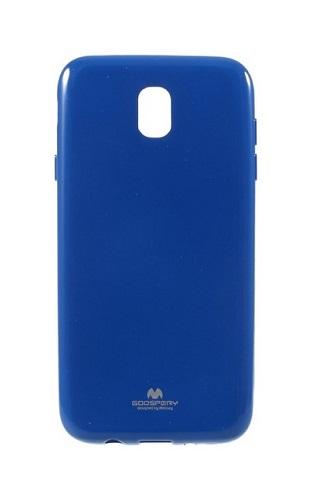 Pouzdro Mercury Samsung J7 2017 silikon modrý 20659 (kryt neboli obal na mobil Samsung J7 2017 J730F)