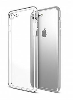 Ultratenký silikonový kryt na iPhone 7 0,5 mm průhledný
