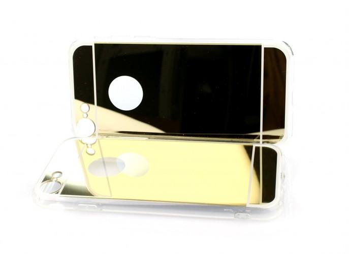 Zadní zrcátkový kryt na iPhone 8 zlatý