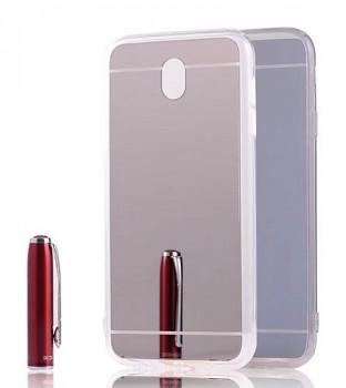 Zadní zrcátkový kryt na Samsung J5 2017 stříbrný