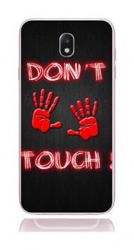 Zadní kryt na Samsung J7 2017 Don't touch red