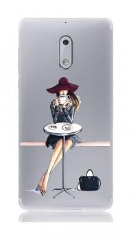 Zadní silikonový kryt na Nokia 6 Lady 6