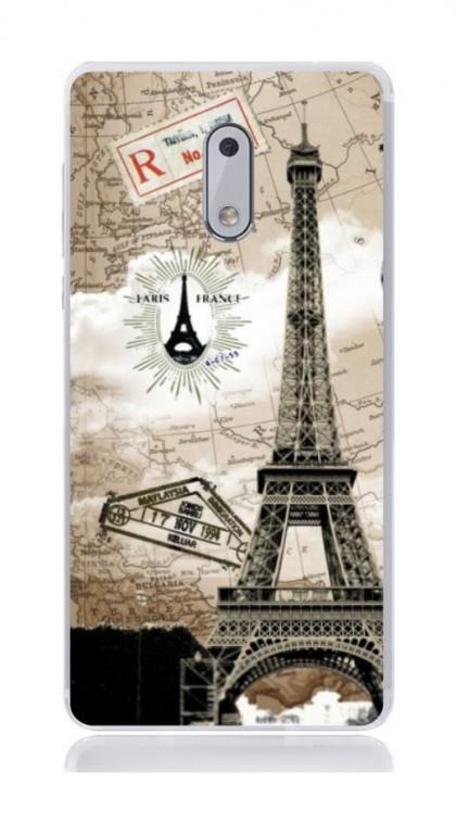 Pouzdro TopQ Nokia 6 silikon Paris 2 21161 (kryt neboli obal na mobil Nokia 6)