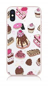 Zadní kryt na iPhone X Desserts