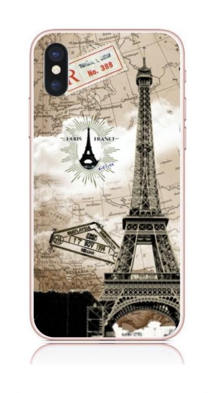 Pouzdro TopQ iPhone X pevné Paris 2 21219 (kryt neboli obal na mobil Apple iPhone X)