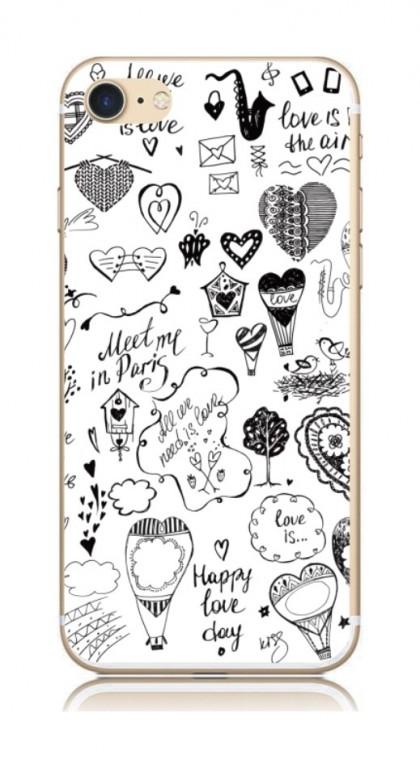 Pouzdro TopQ iPhone 7 pevné Štěstí 21254 (kryt neboli obal na mobil Apple iPhone 7)